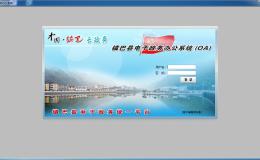 镇巴电子政务办公OA系统下载