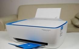 惠普彩色喷墨打印机墨盒安装手机连接无线打印教程
